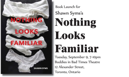 NOTHING LOOKS FAMILIAR Book Launch Announcement.indd